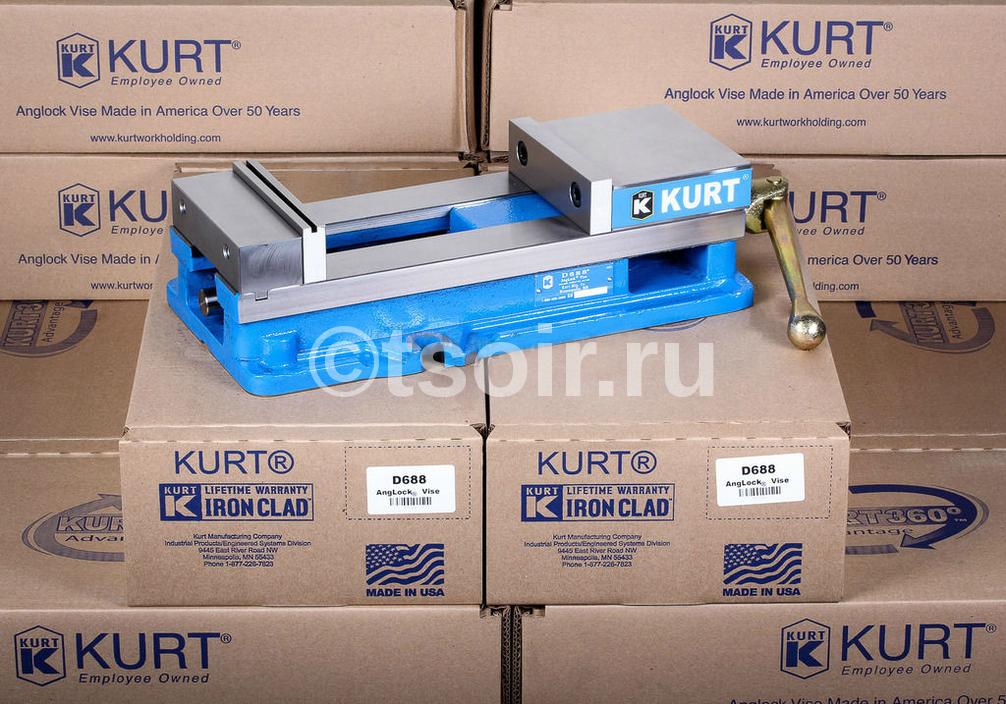 Станочные Тиски Kurt D688